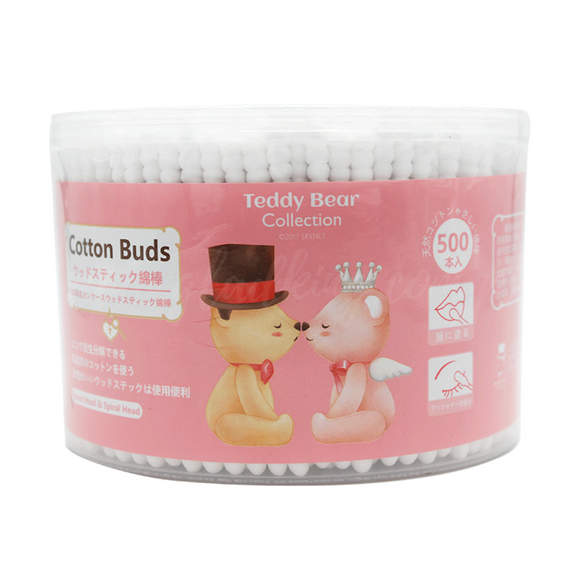 Teddy Bear Collection Cotton Buds