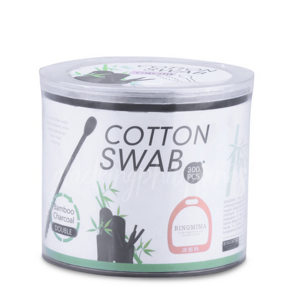 Bamboo Charcoal Cotton Swab