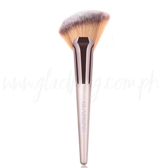 Gladking Big Angled Fan Brush (Metallic Color)
