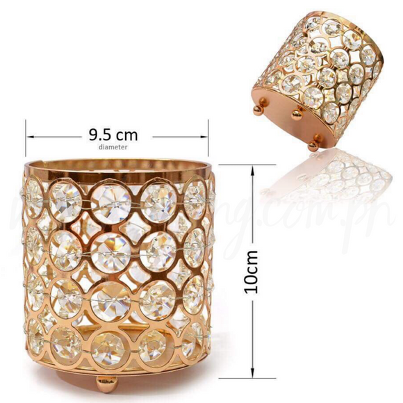 Diamond Gold Make up Brush Vase