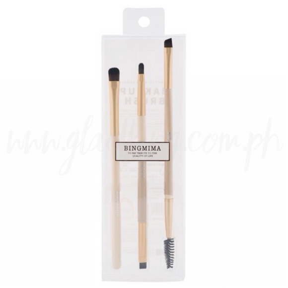 3 in 1 Eyebrow make up brush