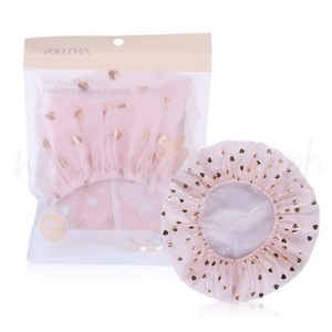 Bright Double Shower Cap (Pink)