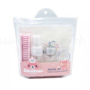Travel Bottle Set with comb