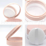 Ballet Pink Loose Powder Container w/ Puff