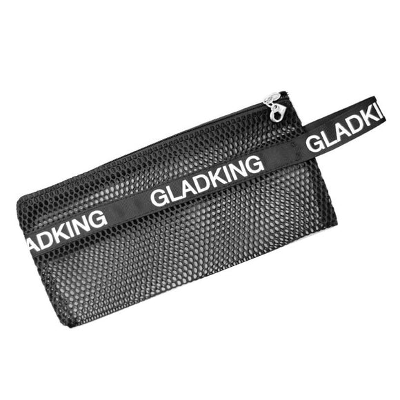 Gladking Black Mesh Cosmetic Purse Pouch