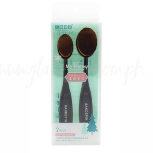 2 pcs Oval Brush