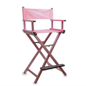 Director Makeup Chair (Pink)
