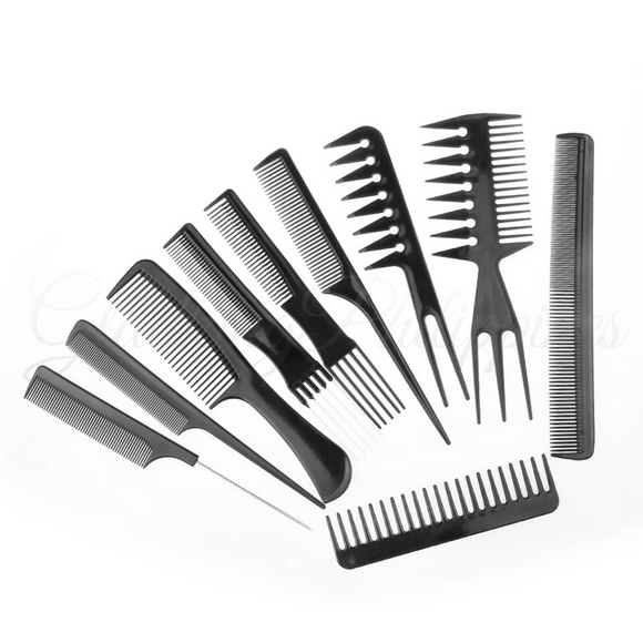 15 Pcs Professional Comb Set