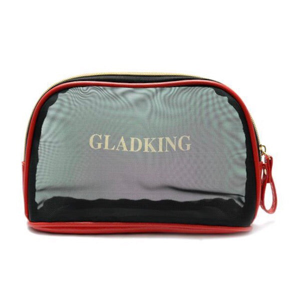 Gladking (Red) Portable Semitransparent & Lazy Makeup Pouch