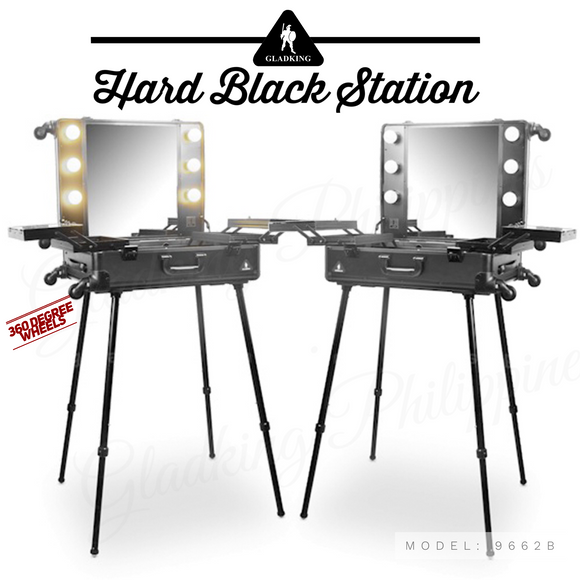 9662B- Hard Black Station