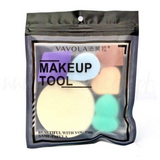 6 pcs Assorted Shape Make up Puff