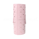 Small Beads Make up Brush Case Cylinder