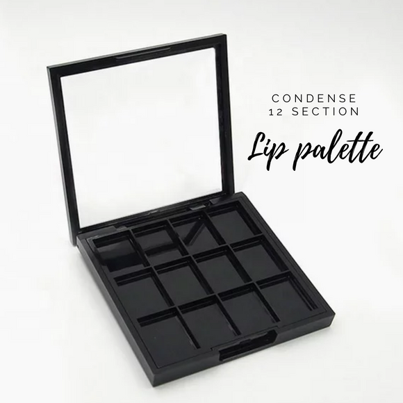 Condense Lipstick Palette - 12 Section