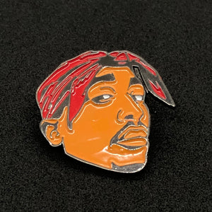 2 Pac Red Pin