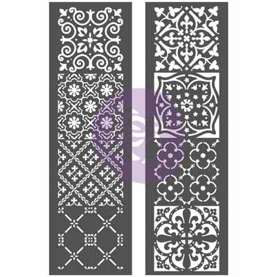 Re Design Stencil-Arabesque