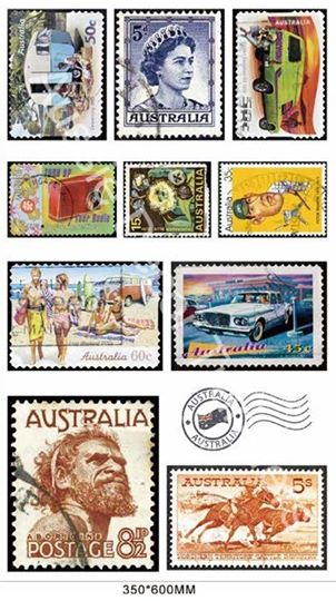Aussie Stamps Transfer