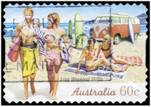 Load image into Gallery viewer, Aussie Stamps Transfer