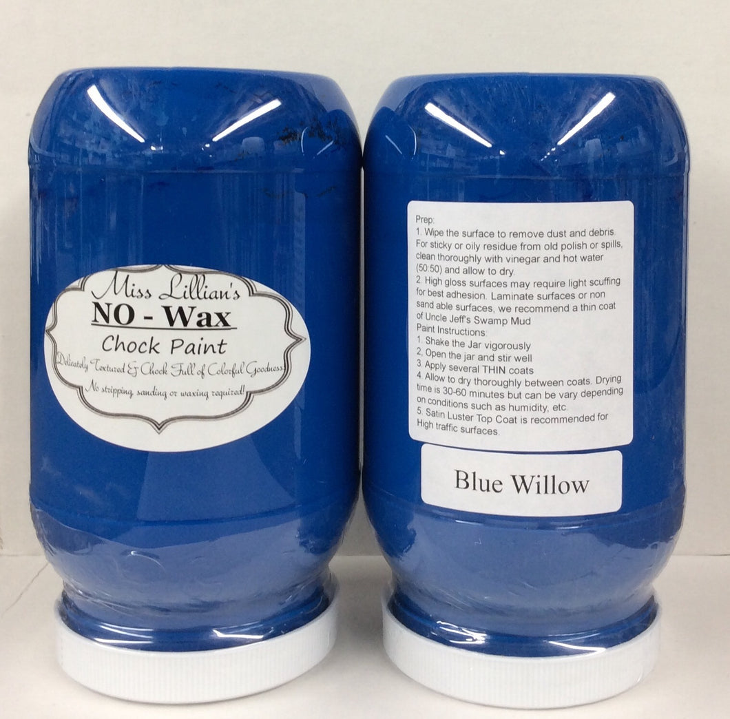 Blue Willow No Wax Chock Paint