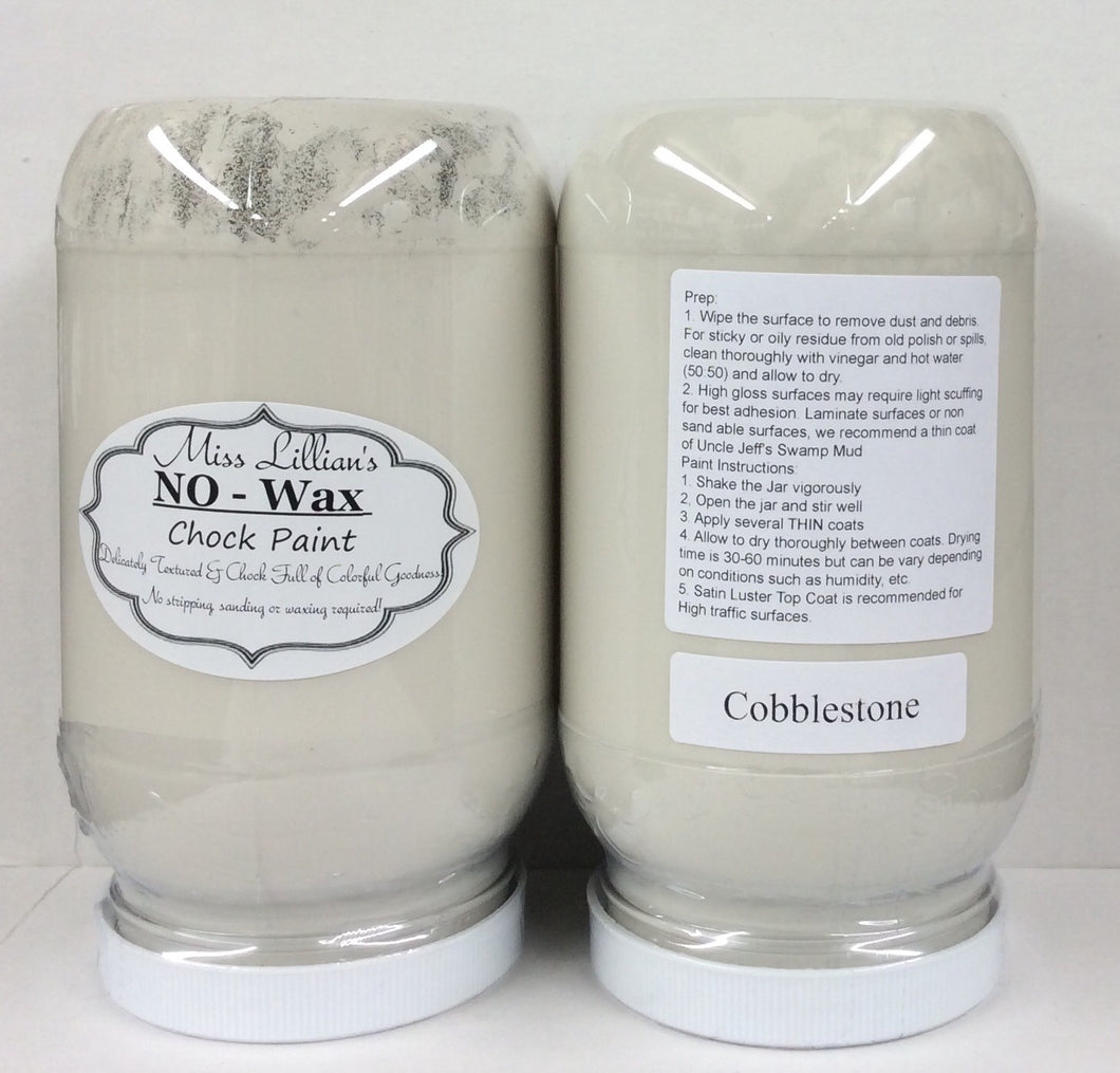 Cobblestone No Wax Chock Paint 16oz