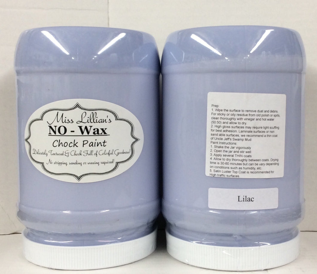 Lilac No Wax Chock Paint