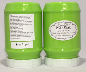 Sour Apple No Wax Chock Paint