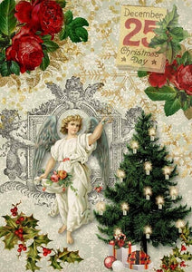 Christmas Angel With Tree