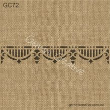 Gemini Creative GC72 Border Stencil