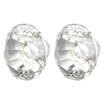 Faceted Glass Knob-GDK204Clear