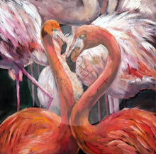 Load image into Gallery viewer, Flamingos Decoupage Paper