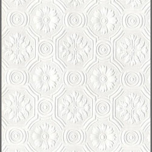 Spencer Floral Paintable Wallpaper