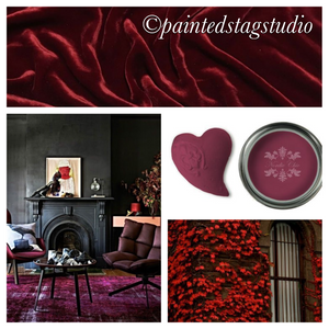 Nordic Chic Furniture Paint-Ruby Wine