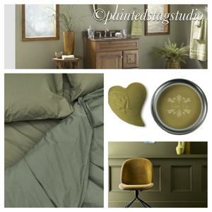 Nordic Chic Furniture Paint-Olive