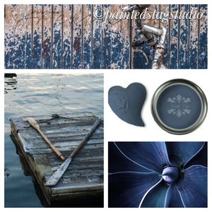 Nordic Chic Furniture Paint-Deep Blue