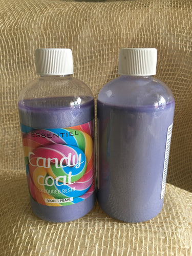 Candy Coat Resin Violet Pearl