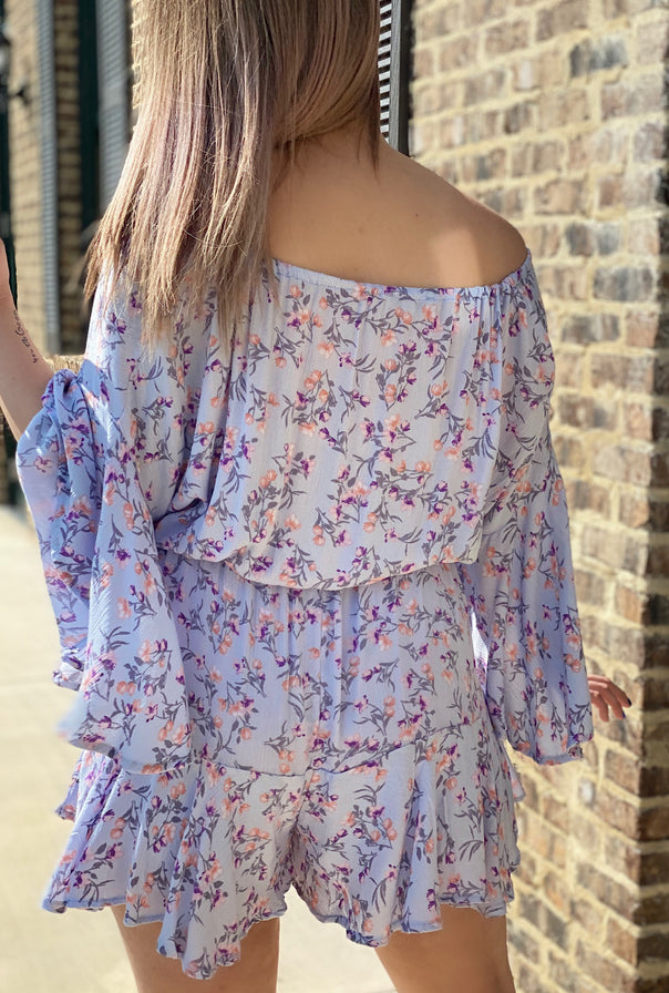 Shelby Floral Romper - Bellamie Boutique