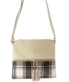 Plaid Purses - Bellamie Boutique