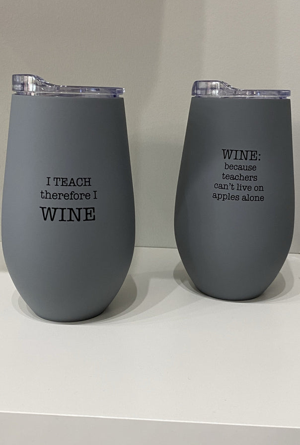 Teacher Wine Tumbler - Bellamie Boutique