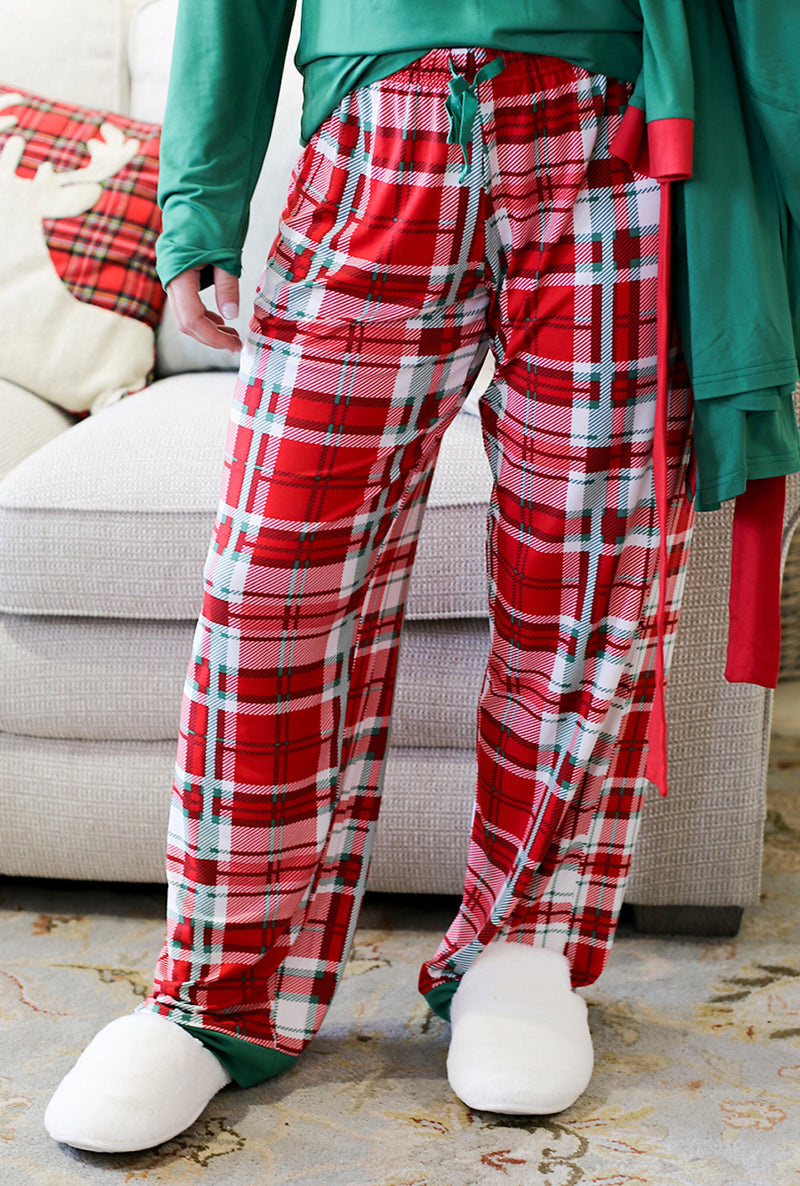 Alpine Plaid Sleep Pants