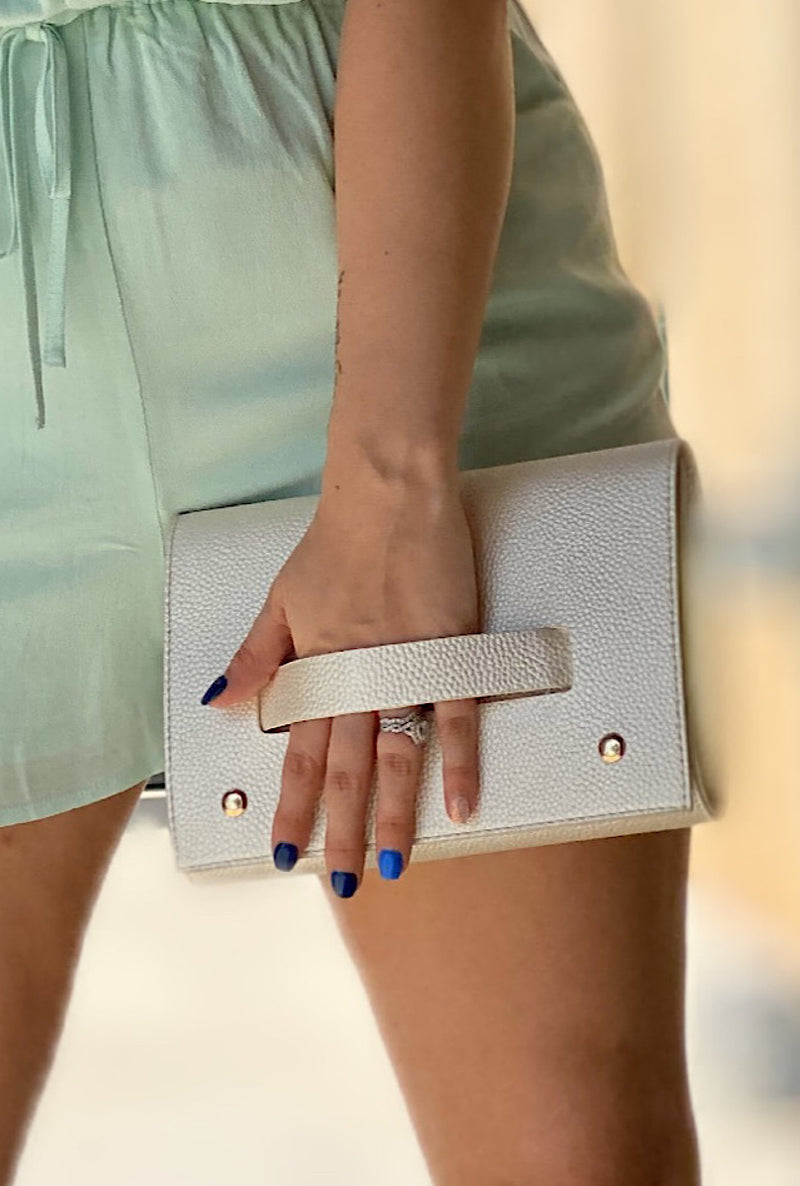 Pearl Hand Clutch