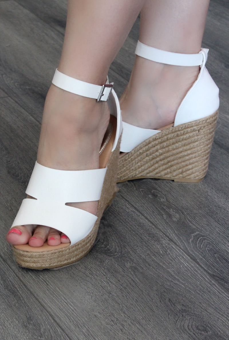 Infinity White Wedge