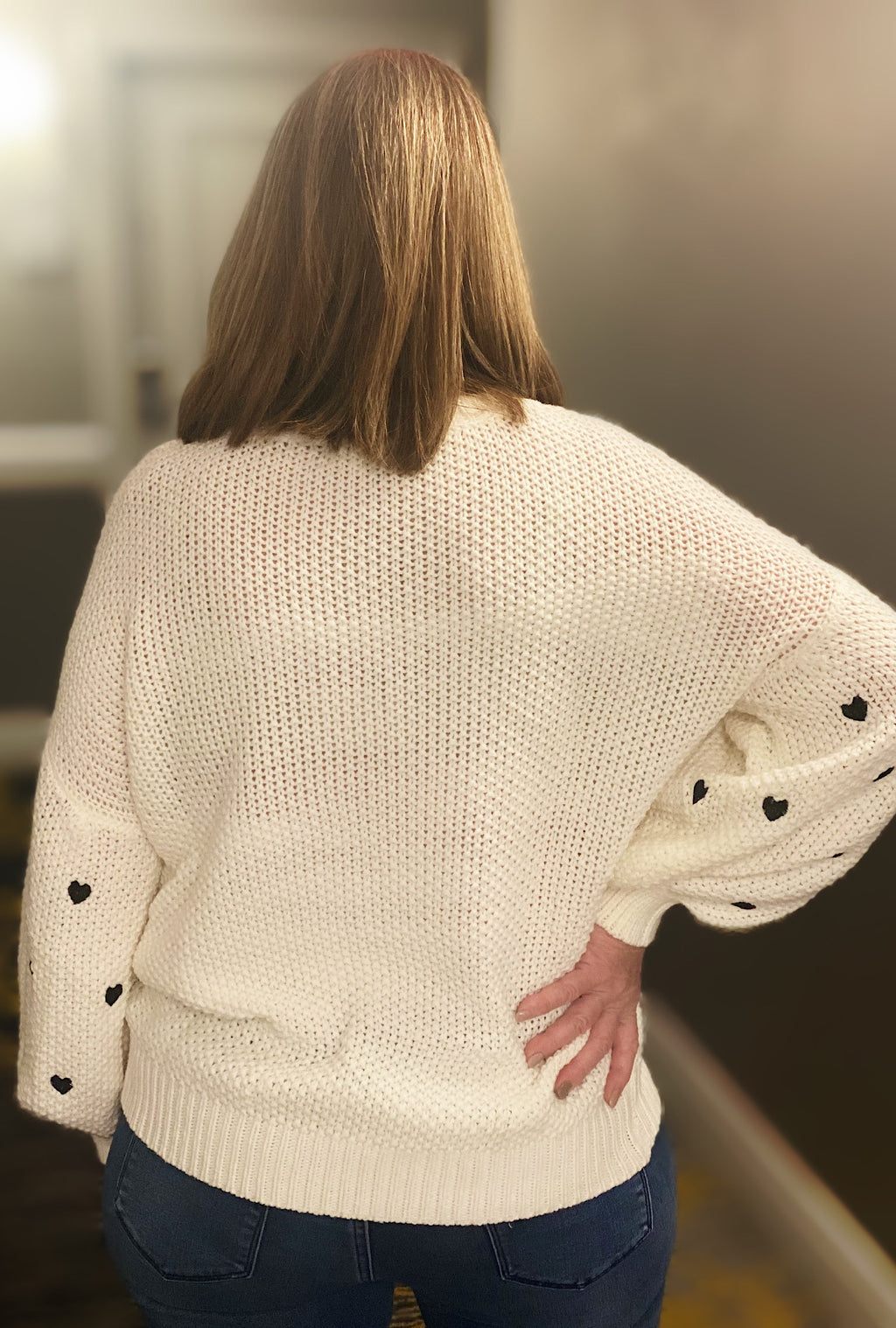 Galentines Bubble Sweater