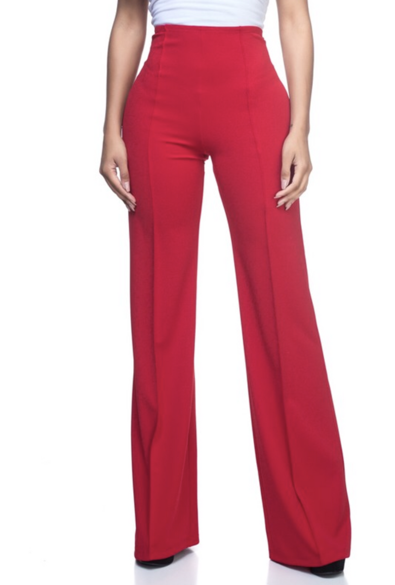 Red Pants - Bellamie Boutique