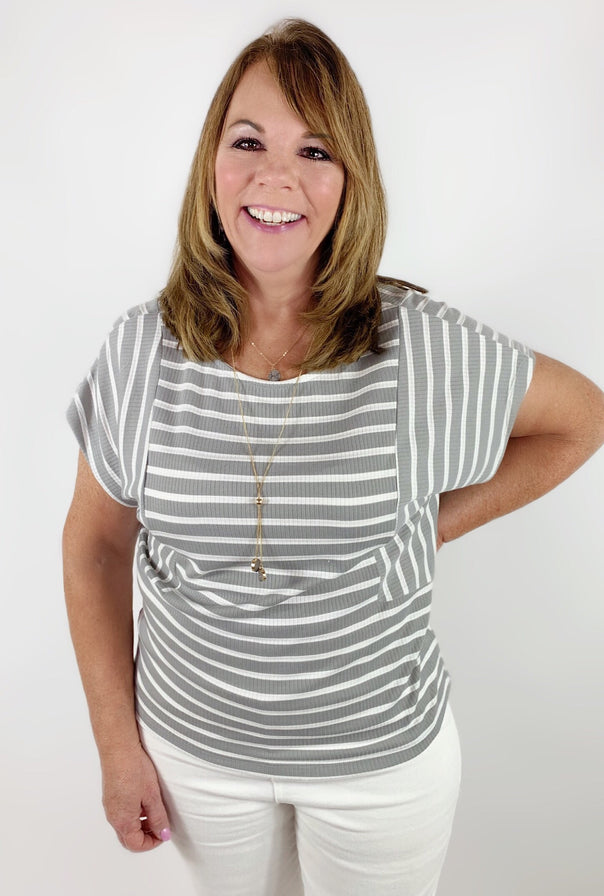 Darla Dolman Top - Bellamie Boutique