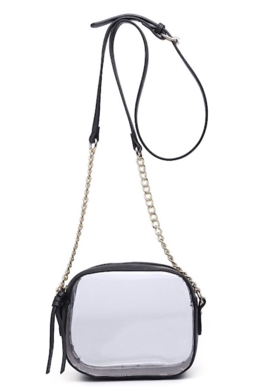 Black Clear Crossbody - Bellamie Boutique