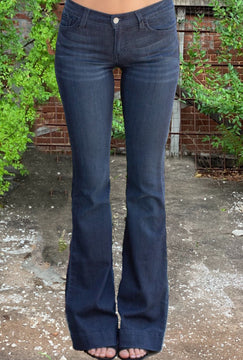 Judy Blue Trouser Flare Jeans