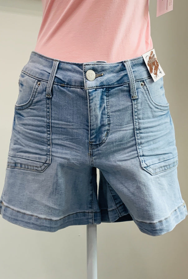Patch Pocket Shorts - Bellamie Boutique