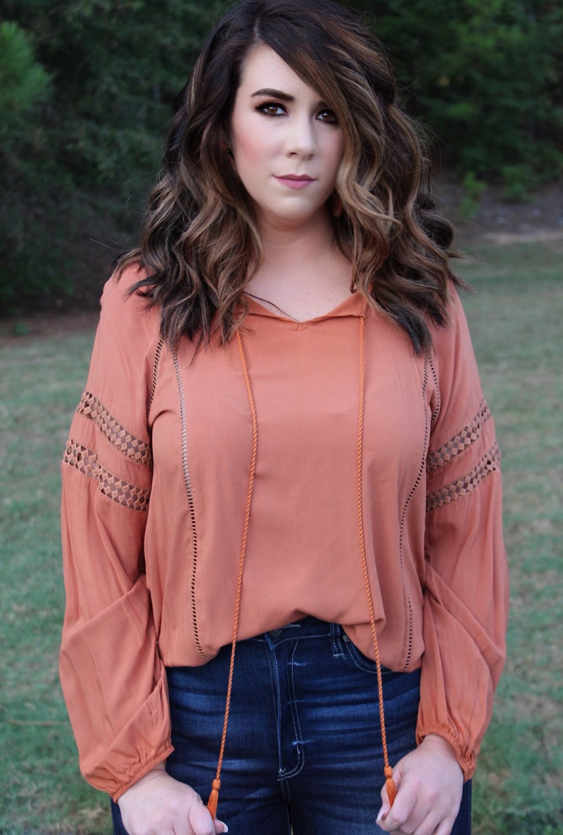 Ginger Tassel Top - Bellamie Boutique