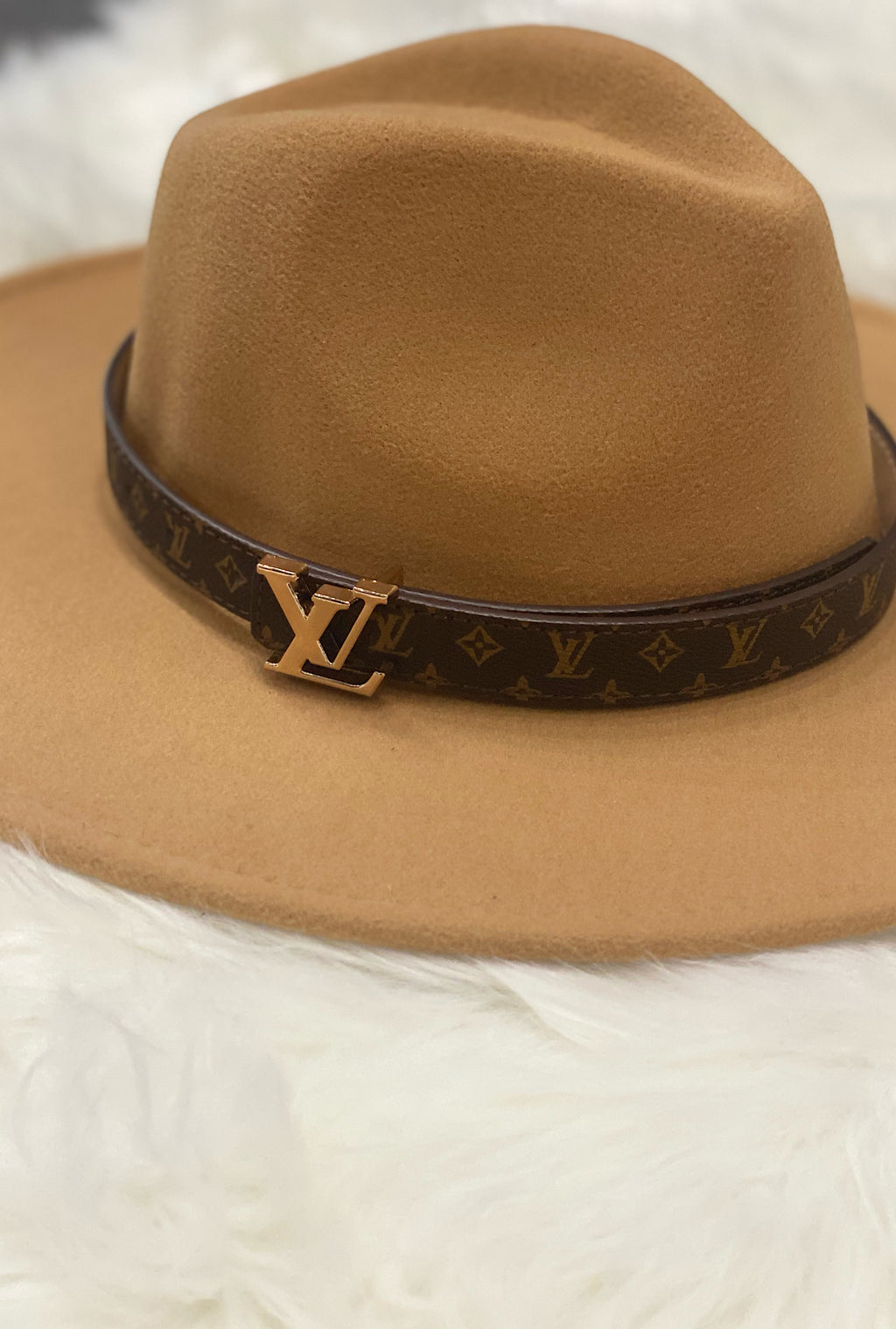 LV Hat Band-2 Colors - Bellamie Boutique