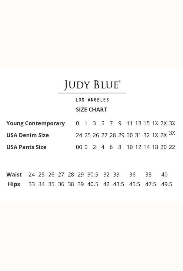 Judy Blue Medium Wash Skinny - Bellamie Boutique