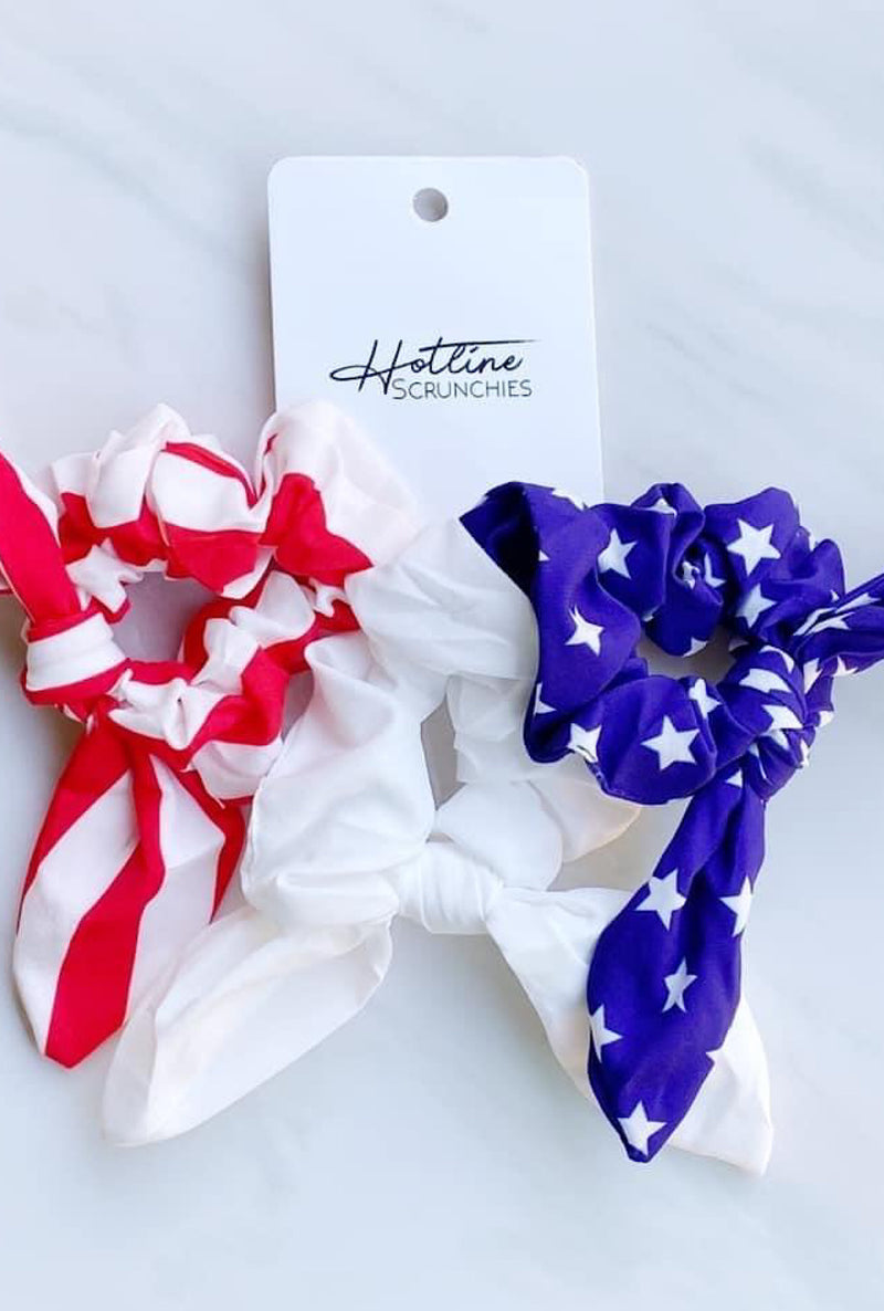 Freedom Scrunchies